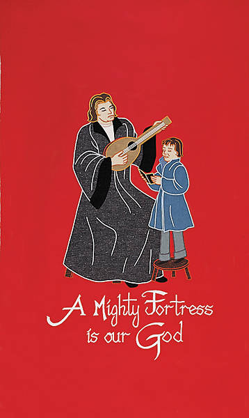 Gaspard 4240 A Mighty Fortress Banner
