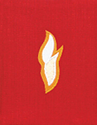 Picture of Gaspard 7117 Frontlet Set Flame Lectionary Cover