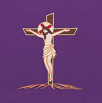 Picture of Gaspard 5006 The Way of the Cross Lectern Scarf