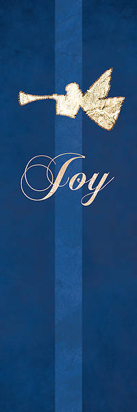 "Picture of Chrismon Joy Banner Blue - 18"" x 5'"