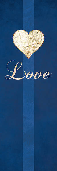 """Picture of Chrismon Love Banner Blue - 18"""" x 5'"""