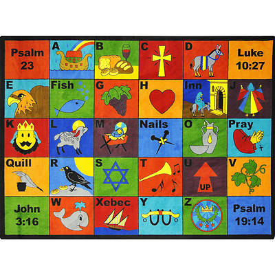 Picture of Bible Phonics Children's Area Rug
