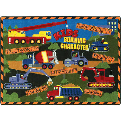 Kids Building Character Childrens Area Rug