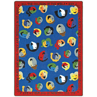 "Picture of Children of the World Children's Area Rug Rectangle 7'8"" x 10'9"""