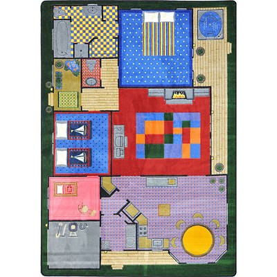 Creative Play House Childrens Area Rug