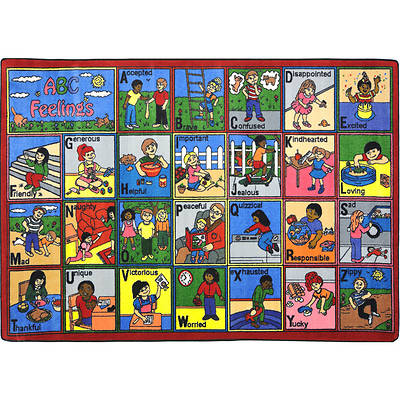 ABC Feelings Childrens Area Rug