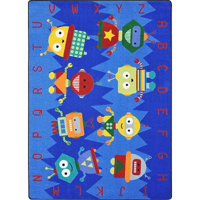 Picture of Alphabet Bots Children's Area Rug