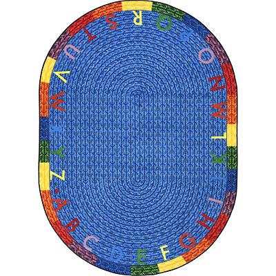 Picture of Alphabet Braid Children's Area Rug