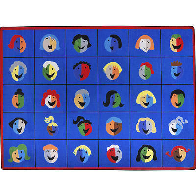 Faces & Places Childrens Area Rug