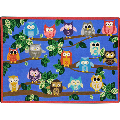 Picture of It's A Hoot Children's Area Rug