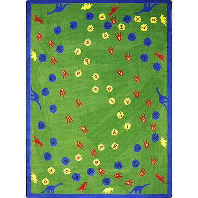 Dinosaur Walk Childrens Area Rug
