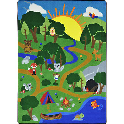Picture of Happy Forest Children's Area Rug