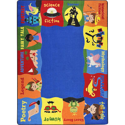 Read Me A Story Childrens Area Rug