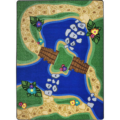 Picture of Alphabet Trail Children's Area Rug