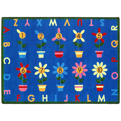 Petal Pushers Childrens Area Rug
