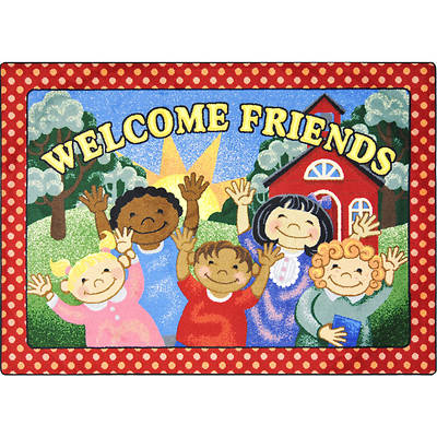 School Days Childrens Area Rug