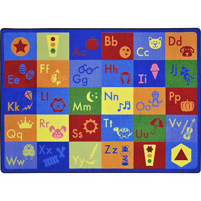 Simply Phonics Childrens Area Rug