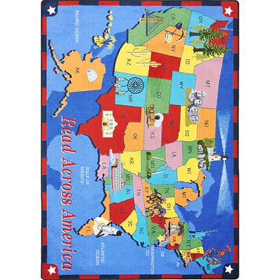 Picture of Read Across America Children's Area Rug