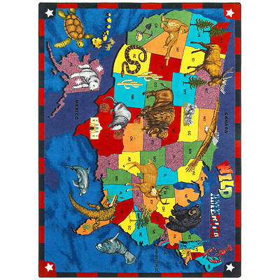Wild America Childrens Area Rug