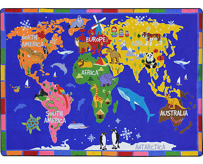 Picture of World of Wonders Children's Area Rug