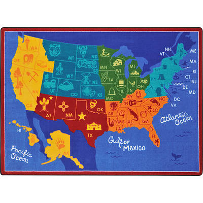 States of the Nation Childrens Area Rug