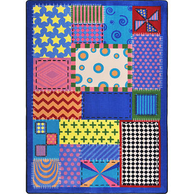 Crazy Quilt Childrens Area Rug