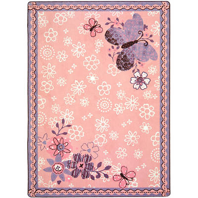 Flower Fields Childrens Area Rug
