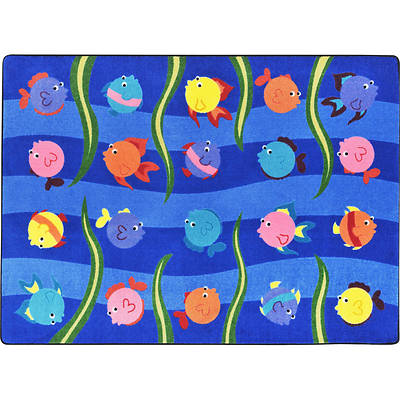 Friendly Fish Childrens Area Rug