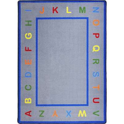 Learn Your Letters Childrens Area Rug