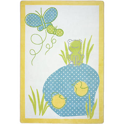Polka Dot Pool Childrens Area Rug