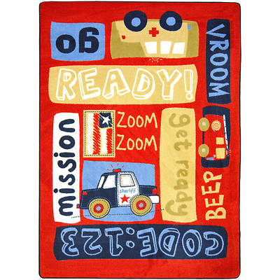 Ready, Set, Go Childrens Area Rug