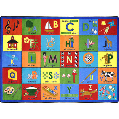 Picture of Bilingual Phonics Children's Area Rug
