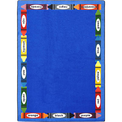 Picture of Bilingual Colors Children's Area Rug