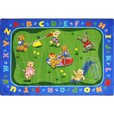 Picture of Teddy Bear Playground Children's Area Rug