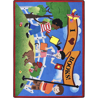 Library Day Childrens Area rug