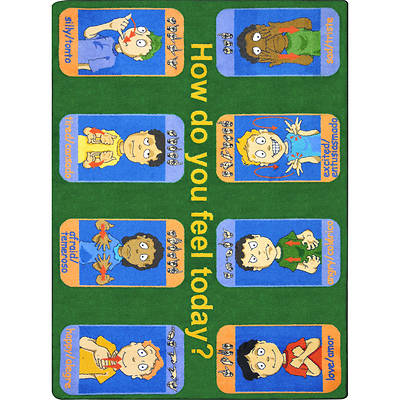 Signs of Emotions Childrens Area Rug