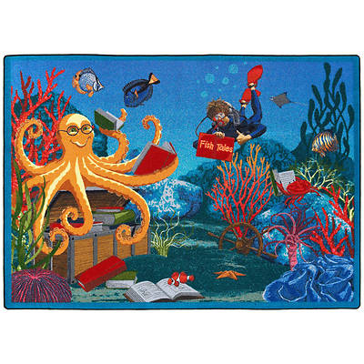 Fish Tales Childrens Area Rug