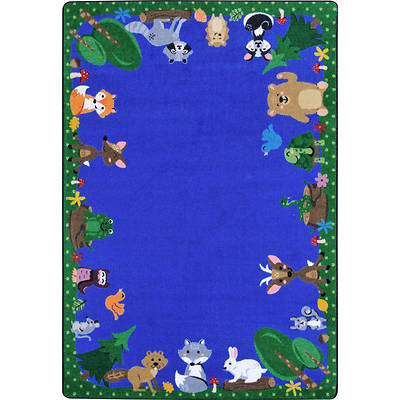 Picture of Animals Among Us Children's Area Rug