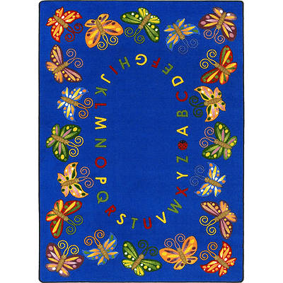 Picture of Butterfly Delight Children's Area Rug