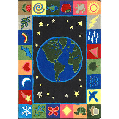 EarthWorks Childrens Area Rug