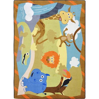 Jungle Babies Childrens Area Rug