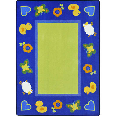 Green Space Childrens Area Rug