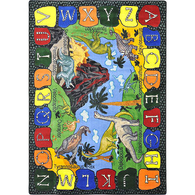 We Dig Dinosaurs Childrens Area Rug