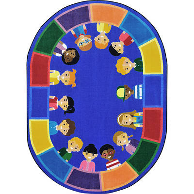 Picture of All of Us Together Children's Area Rug