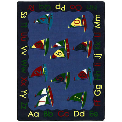 Smooth Sailing Childrens Area Rug