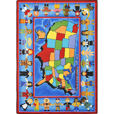 A World of Friends Childrens Area Rug