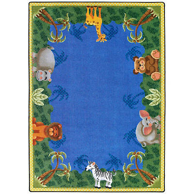 Jungle Friends Childrens Area Rug