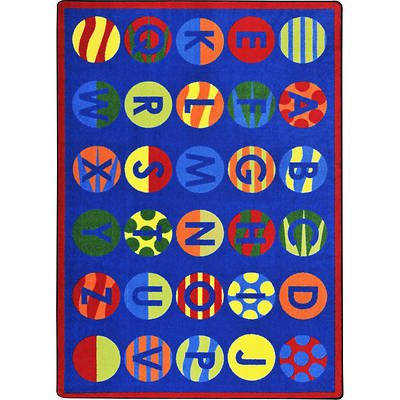 Picture of Alphabet Patterns Children's Area Rug