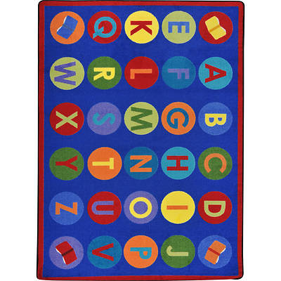 Library Dots Childrens Area Rug