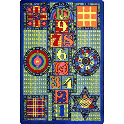 Picture of Games Galore Children's Area Rug